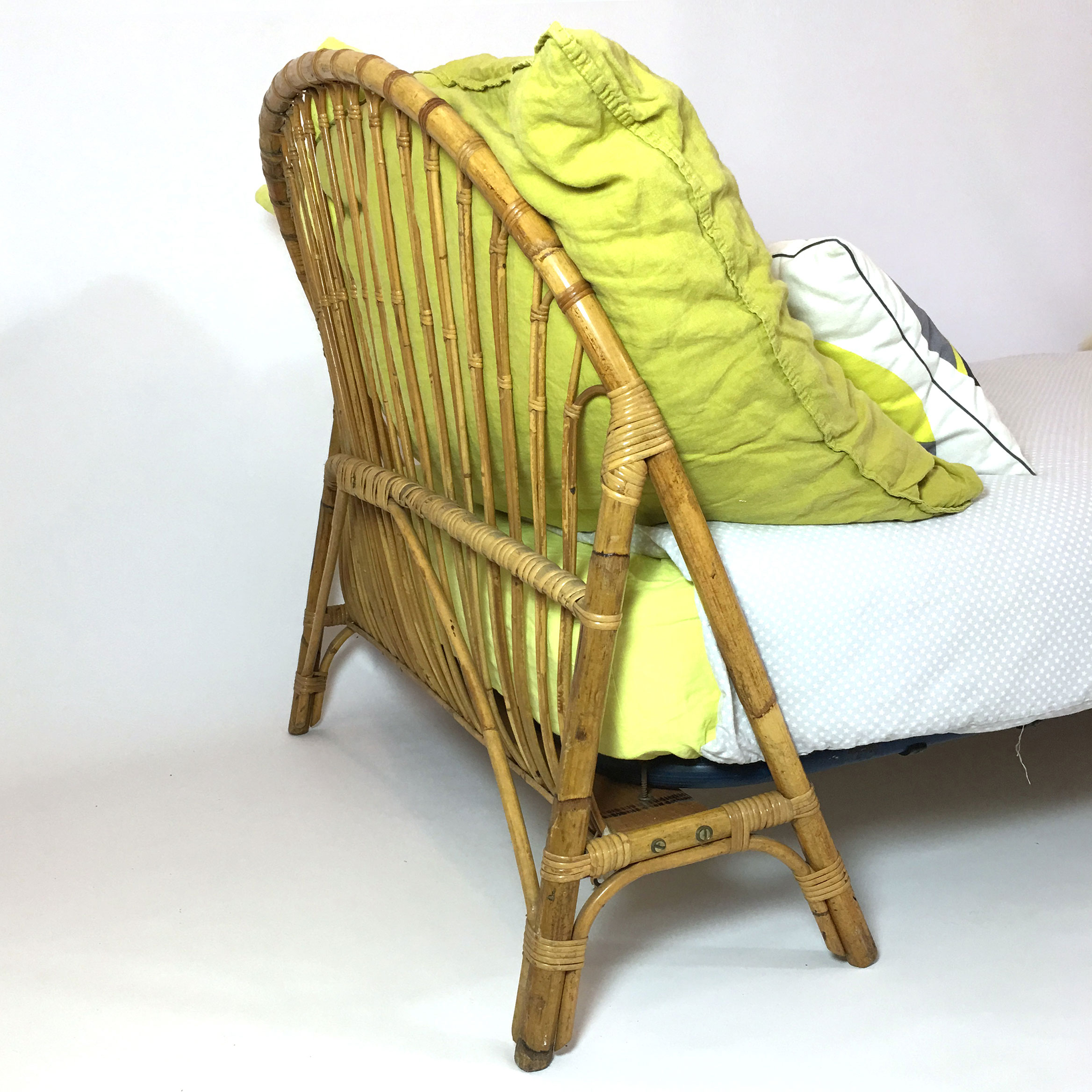 Bamboo bed structure