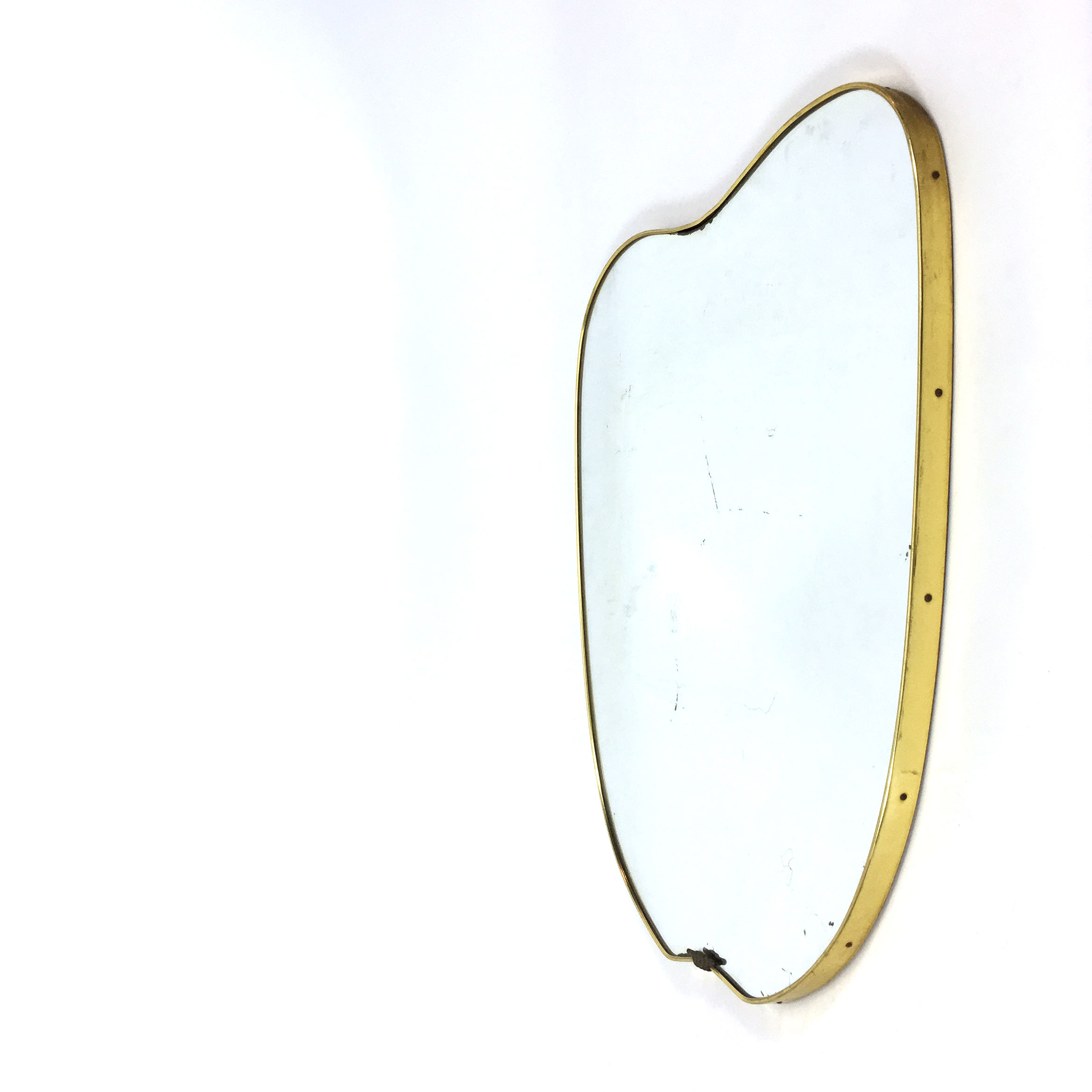 Golden framed mirror from the 50's-60's.