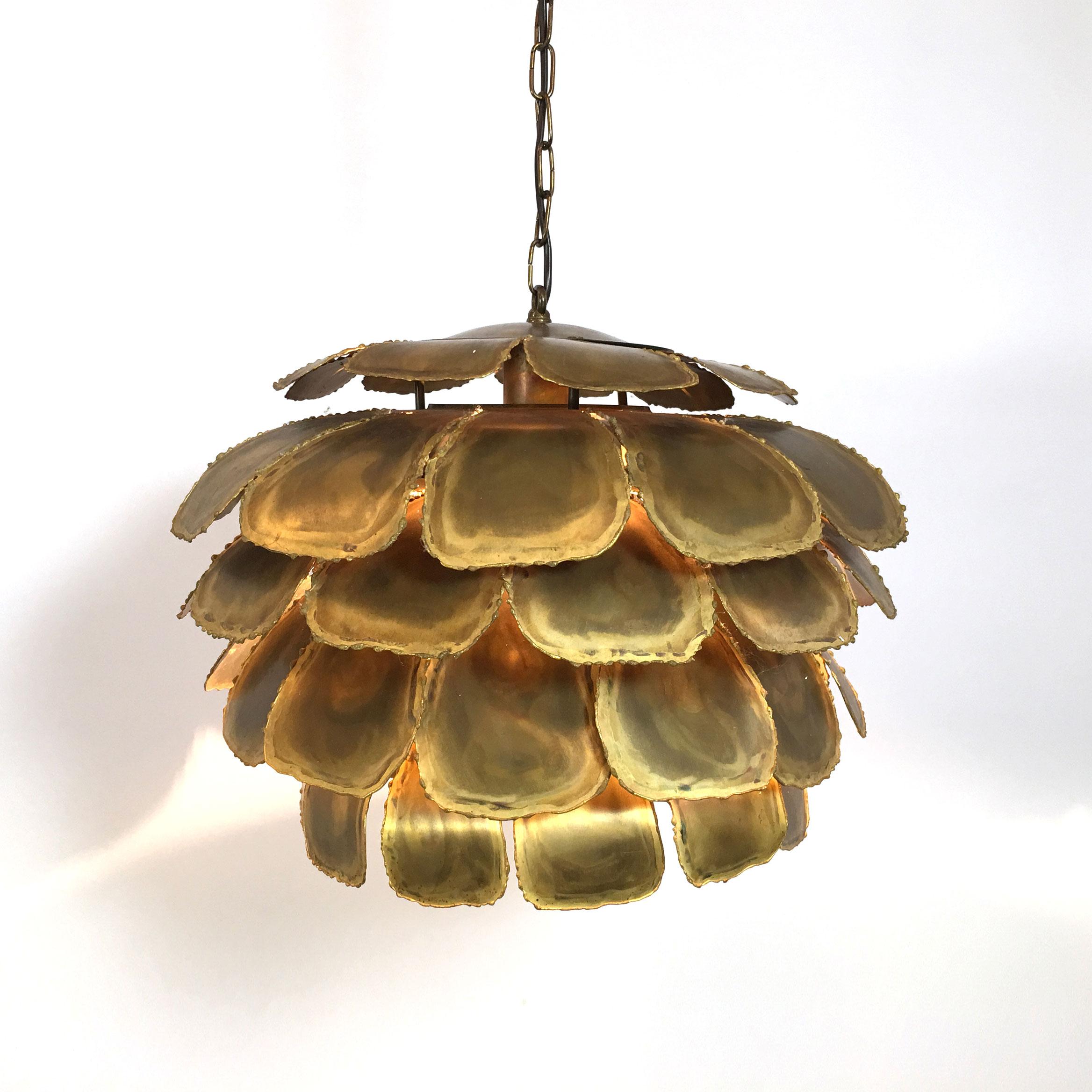 Artichoke pendant by Svend Aage Holm Sorensen.