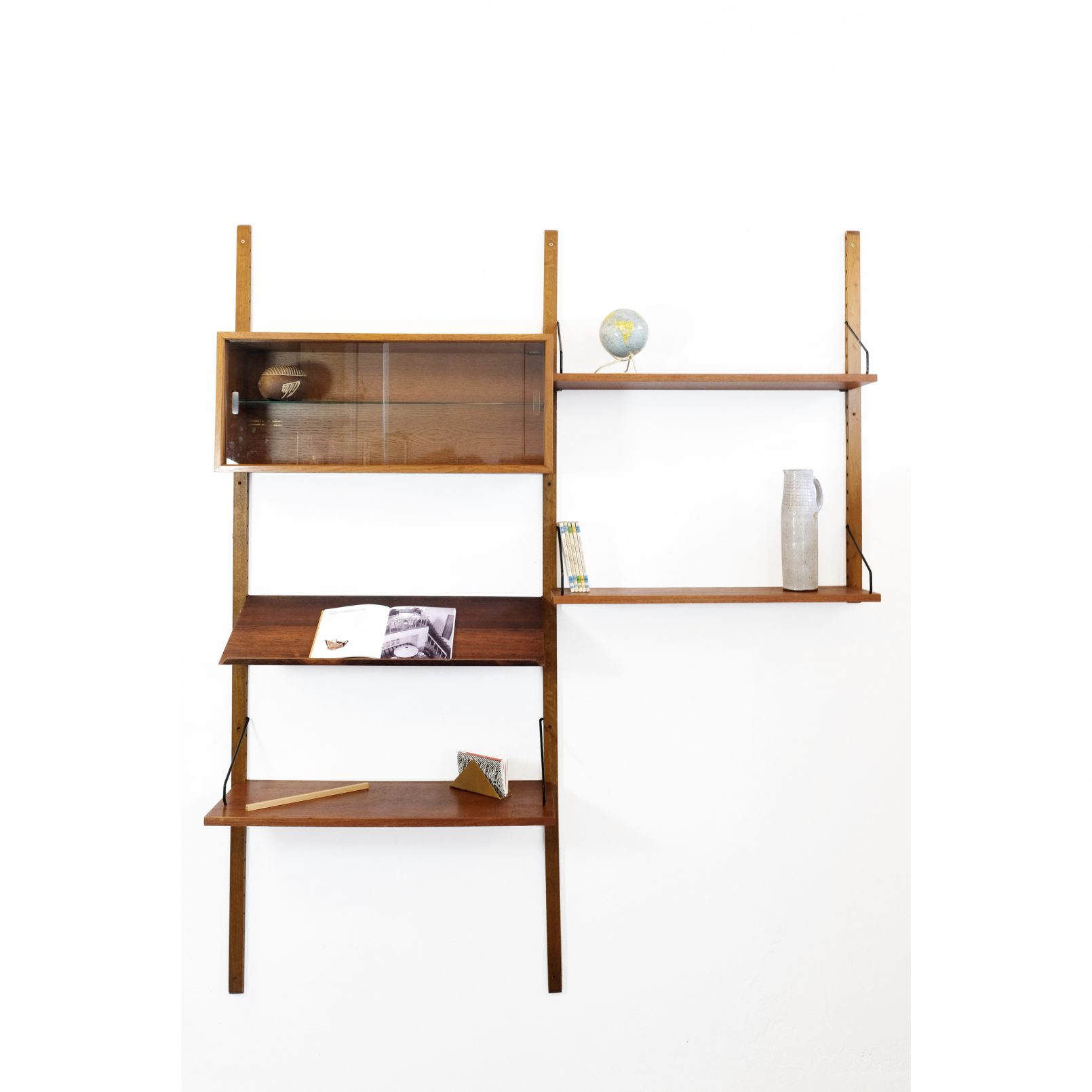 Poul Cadovius, Royal System wall unit, 1950s.