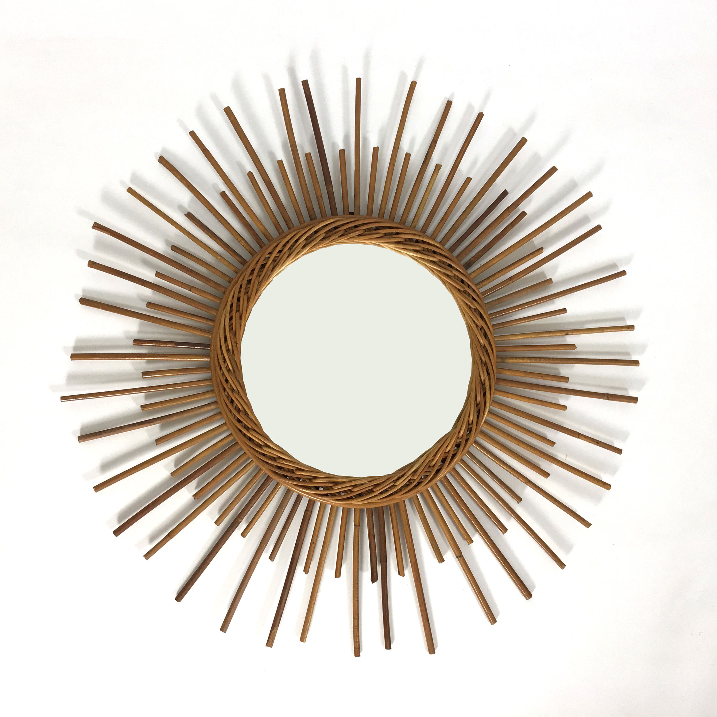 Sun shaped mirror from the sixties.