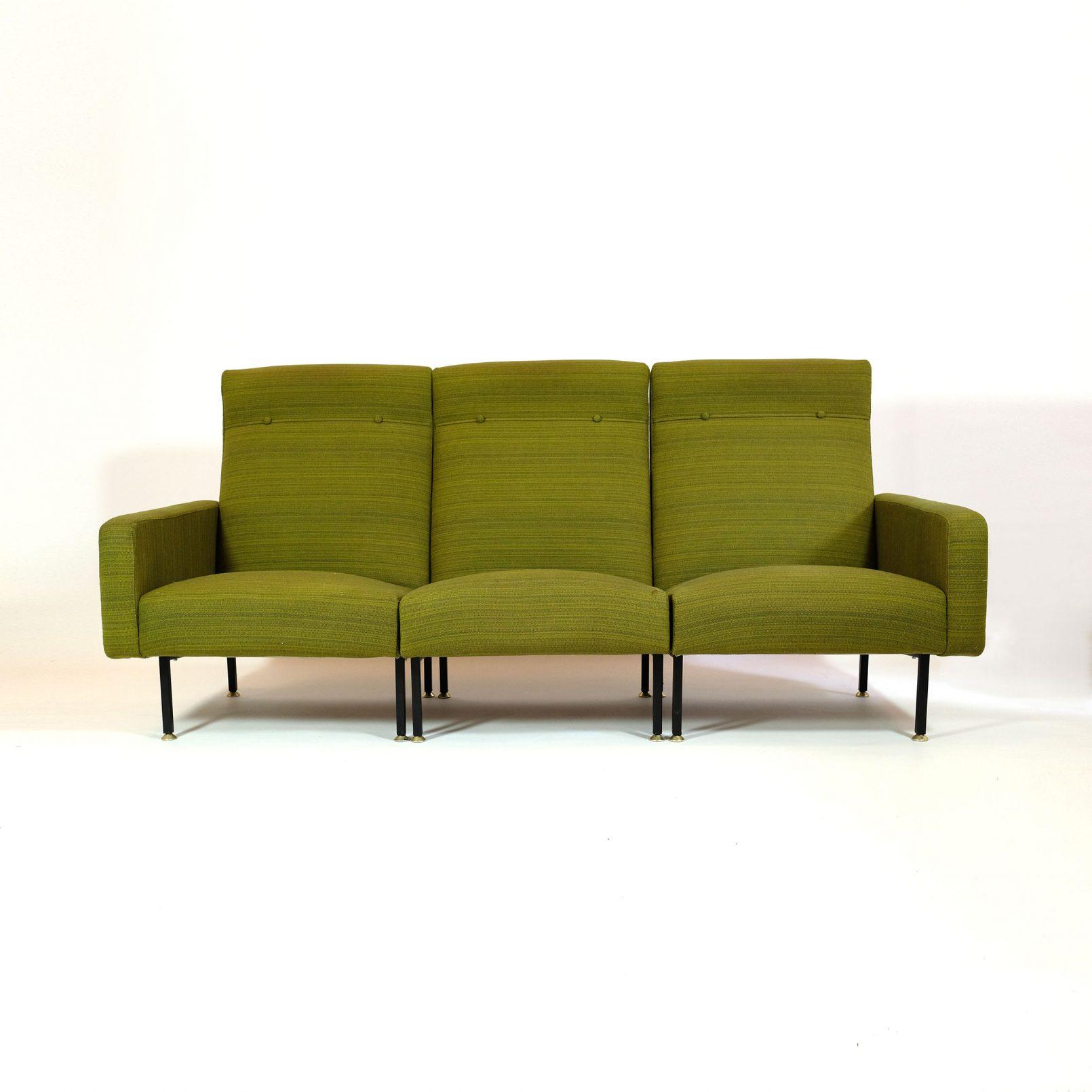 Canapé modulable Steiner des années 60.