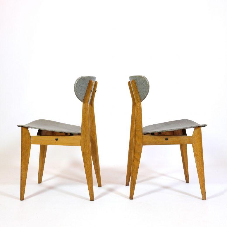 Paire de chaises de Roger Landault.