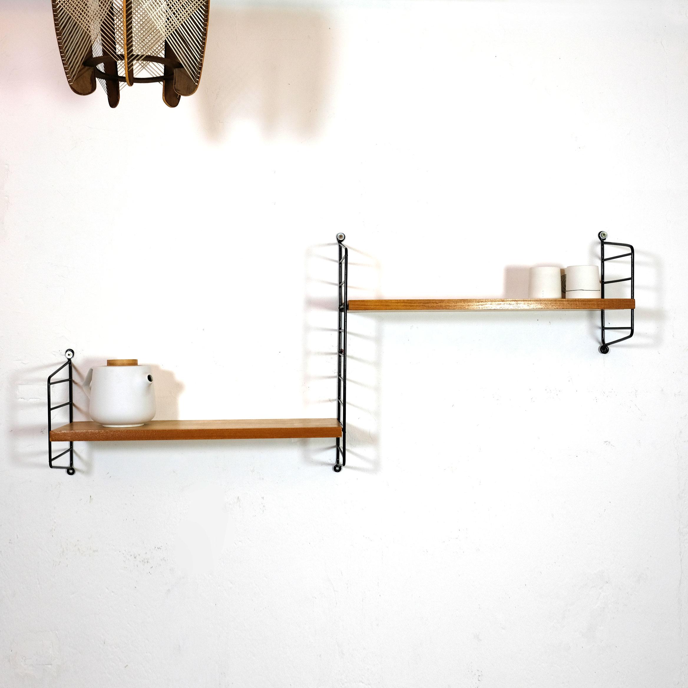 String bookshelves