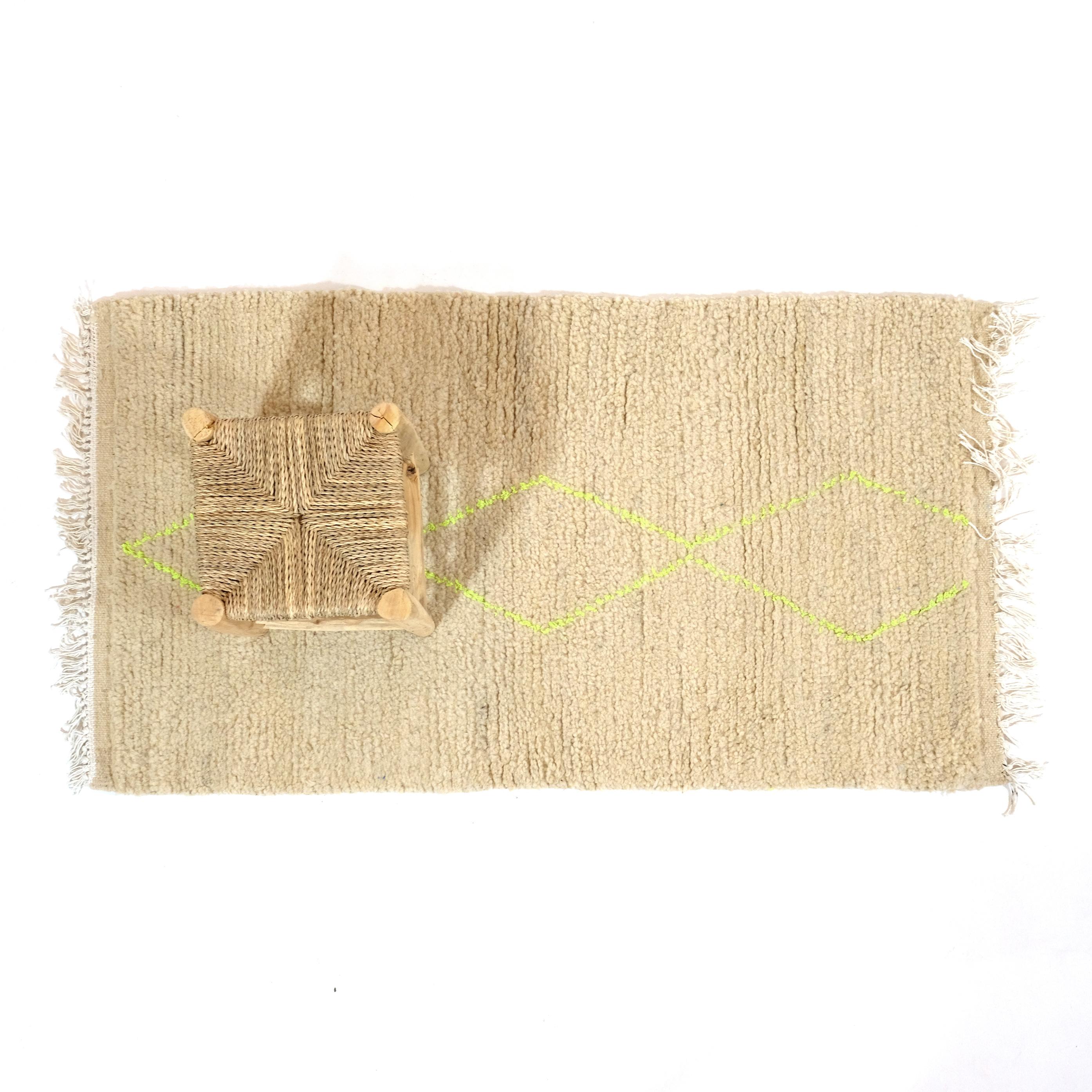 Little Berber rug.