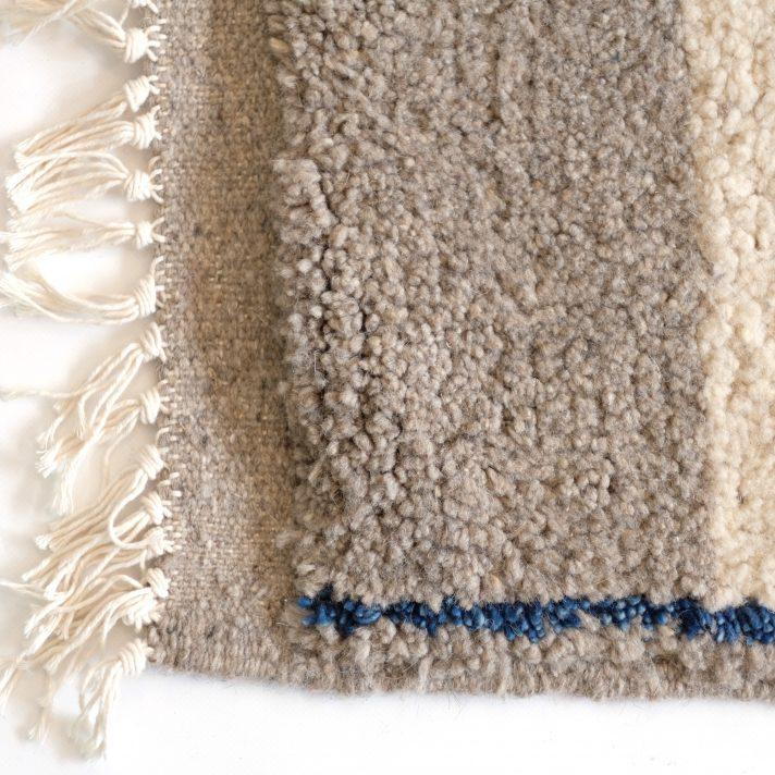 tapis berb re motif gris et bleu 240x150cm lampandco. Black Bedroom Furniture Sets. Home Design Ideas