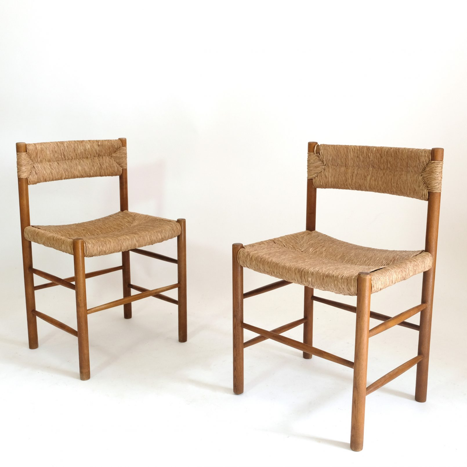 Pair of Dordogne chairs, Sentou, 1950s.