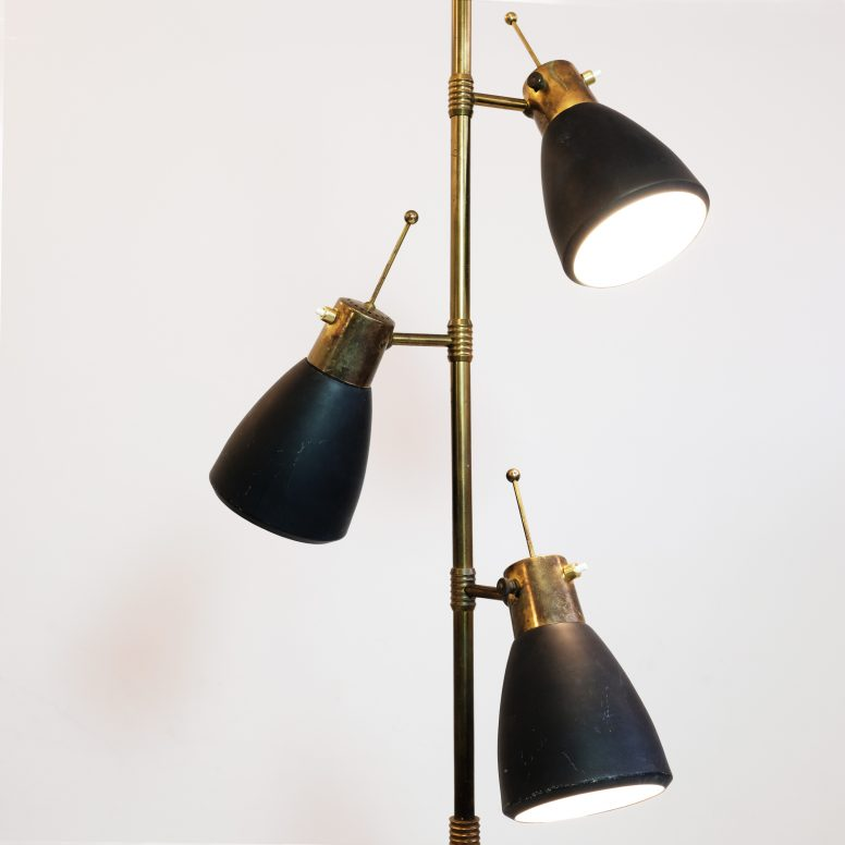 Floor lamp produced by Monix Paris in the sixties.