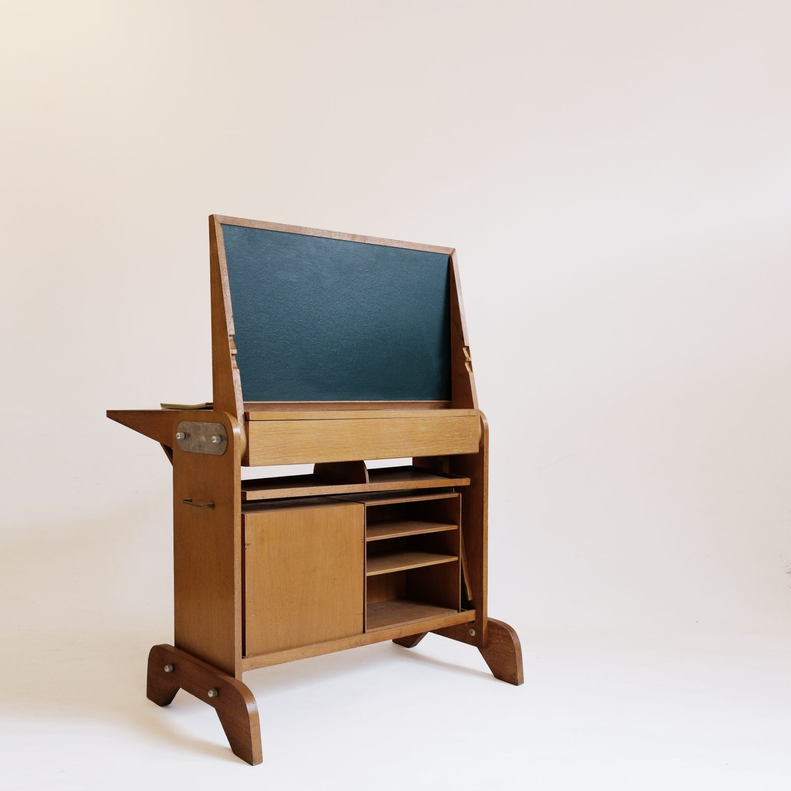 Clever French desk from the 1950s-1960s.