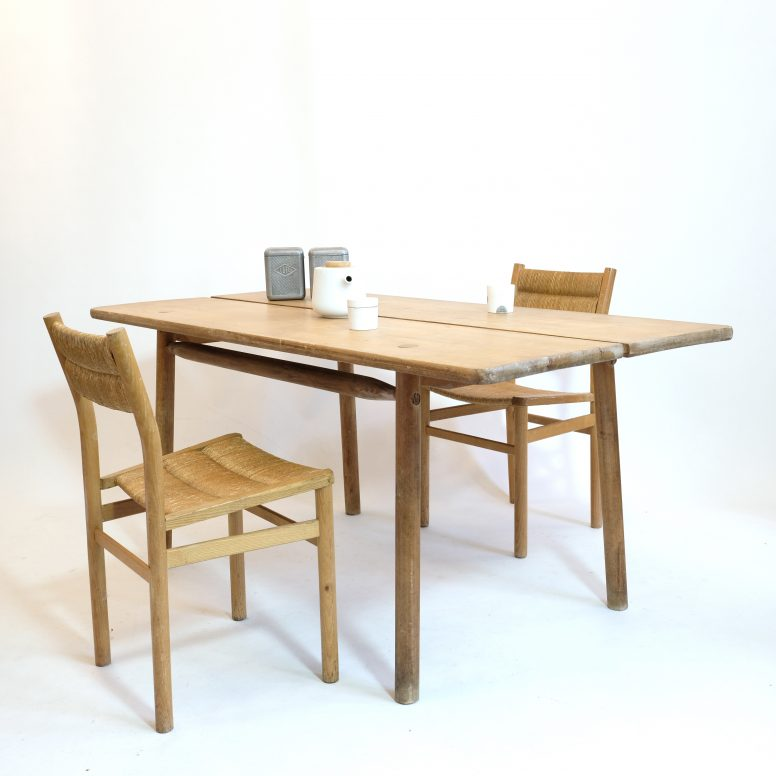 Dining table by Pierre Gautier Delaye, France, 1950s.
