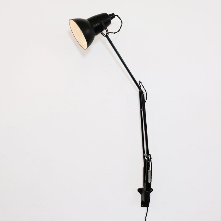 Lampe Anglepoise, Herbert Terry & Sons, 1930s.
