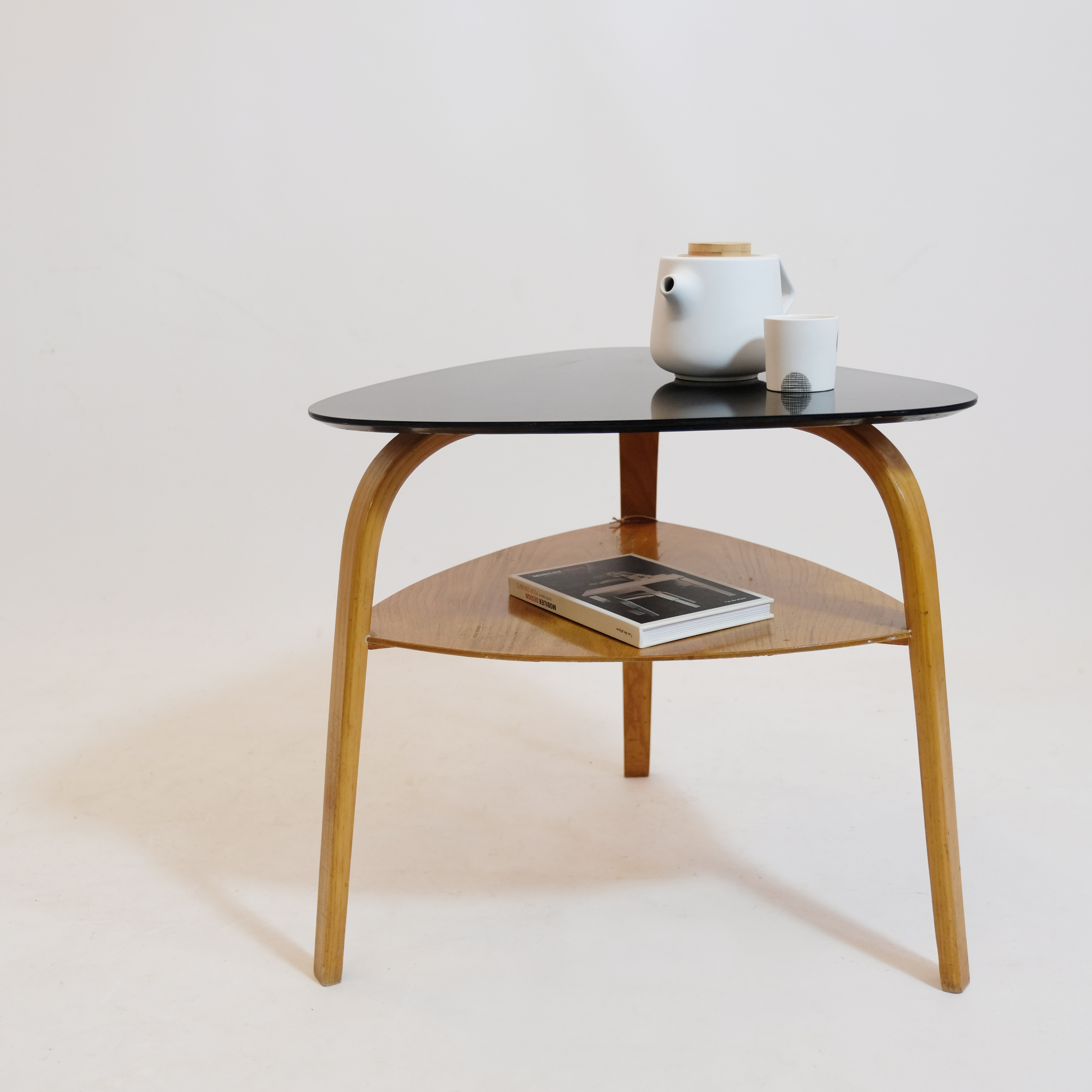 Side Table By Steiner 1950s Lampandco