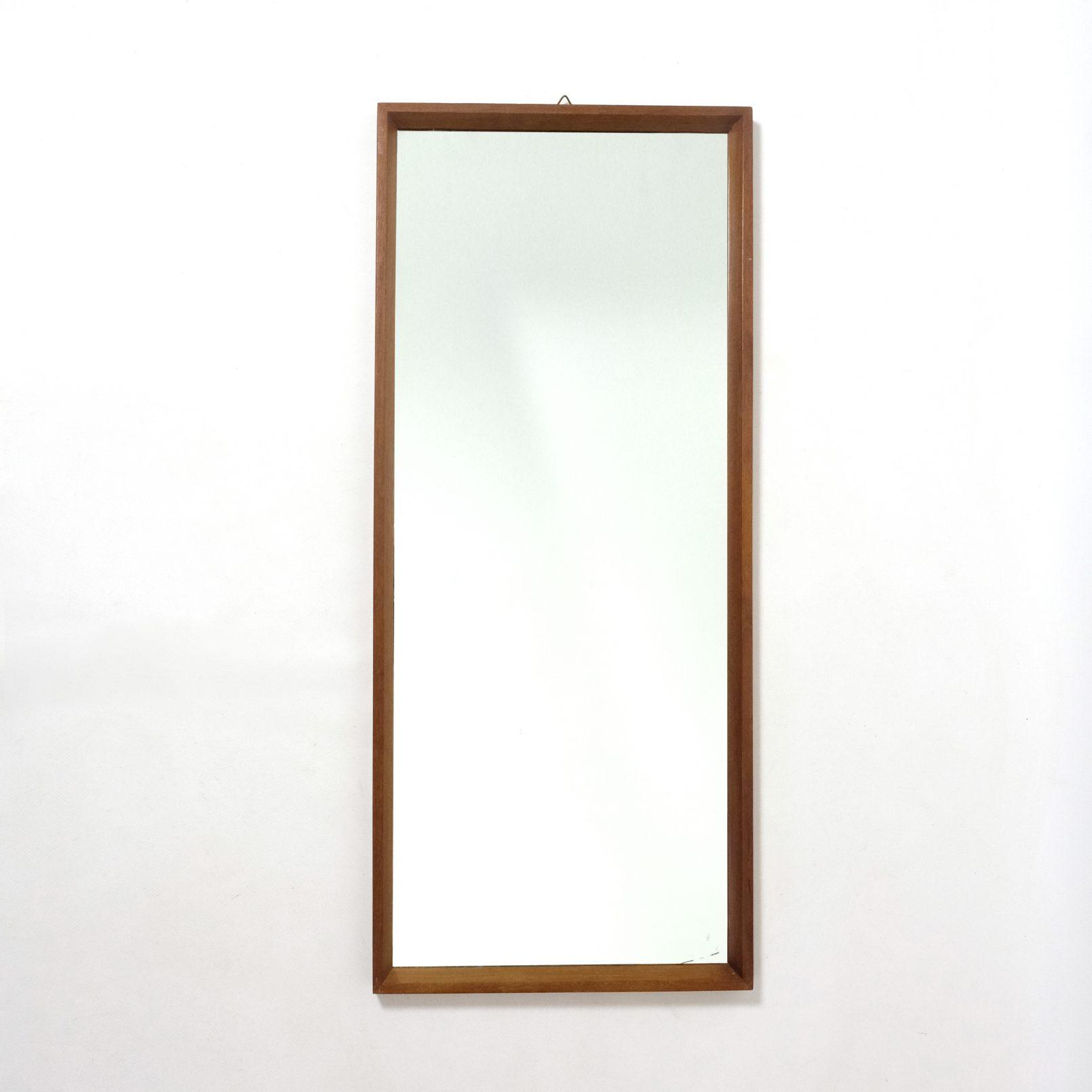 Large scandinavian mirror, 1960s, 74x32cm.