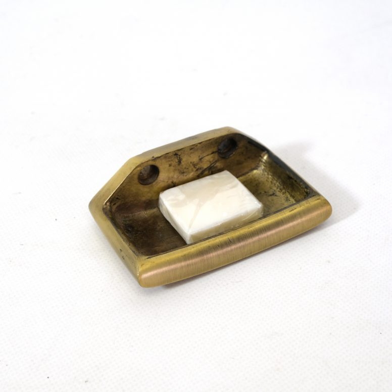 Little brass soap dish.