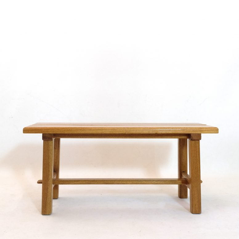 Two seaters bench attributed to Maison regain, 1970s.