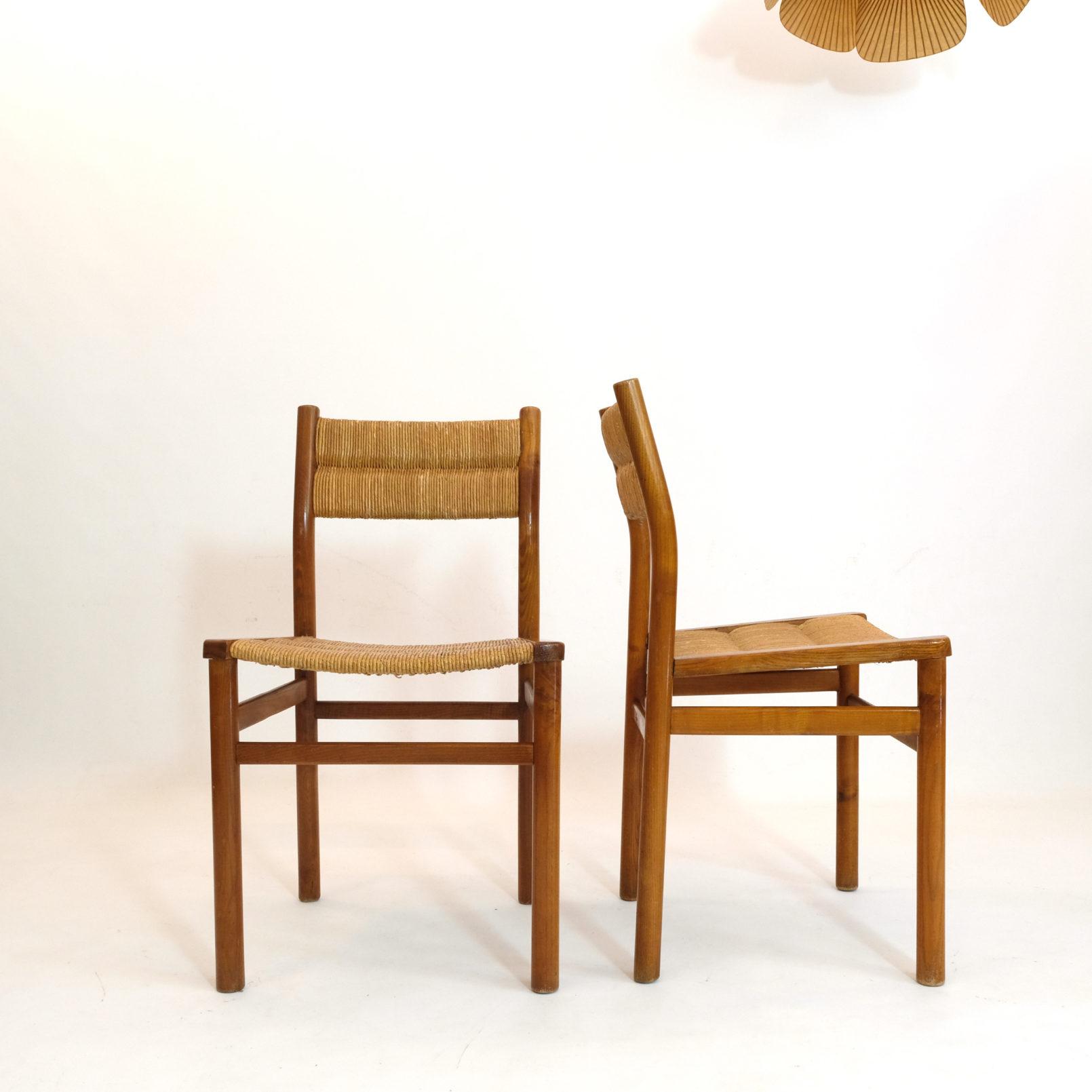 Pierre Gautier Delaye, paire de chaises week-end.