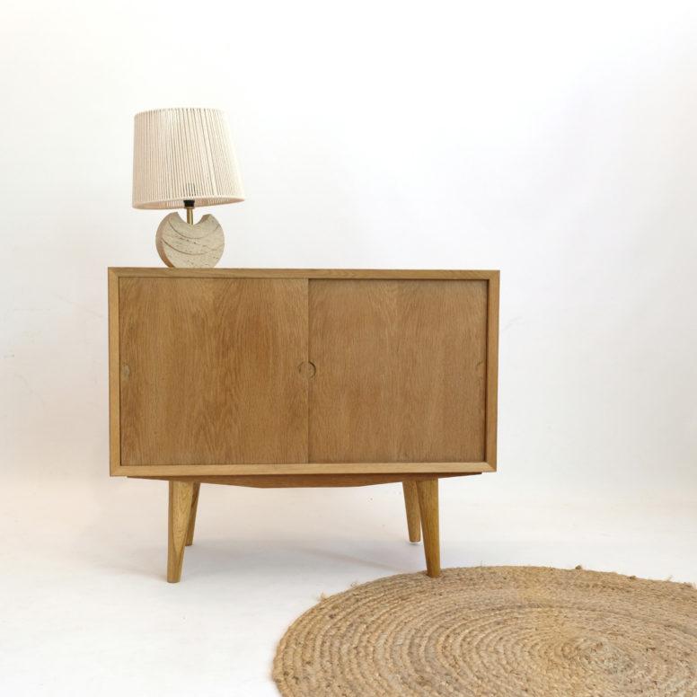 Poul Cadovius, little sideboard, oak, 1960s.
