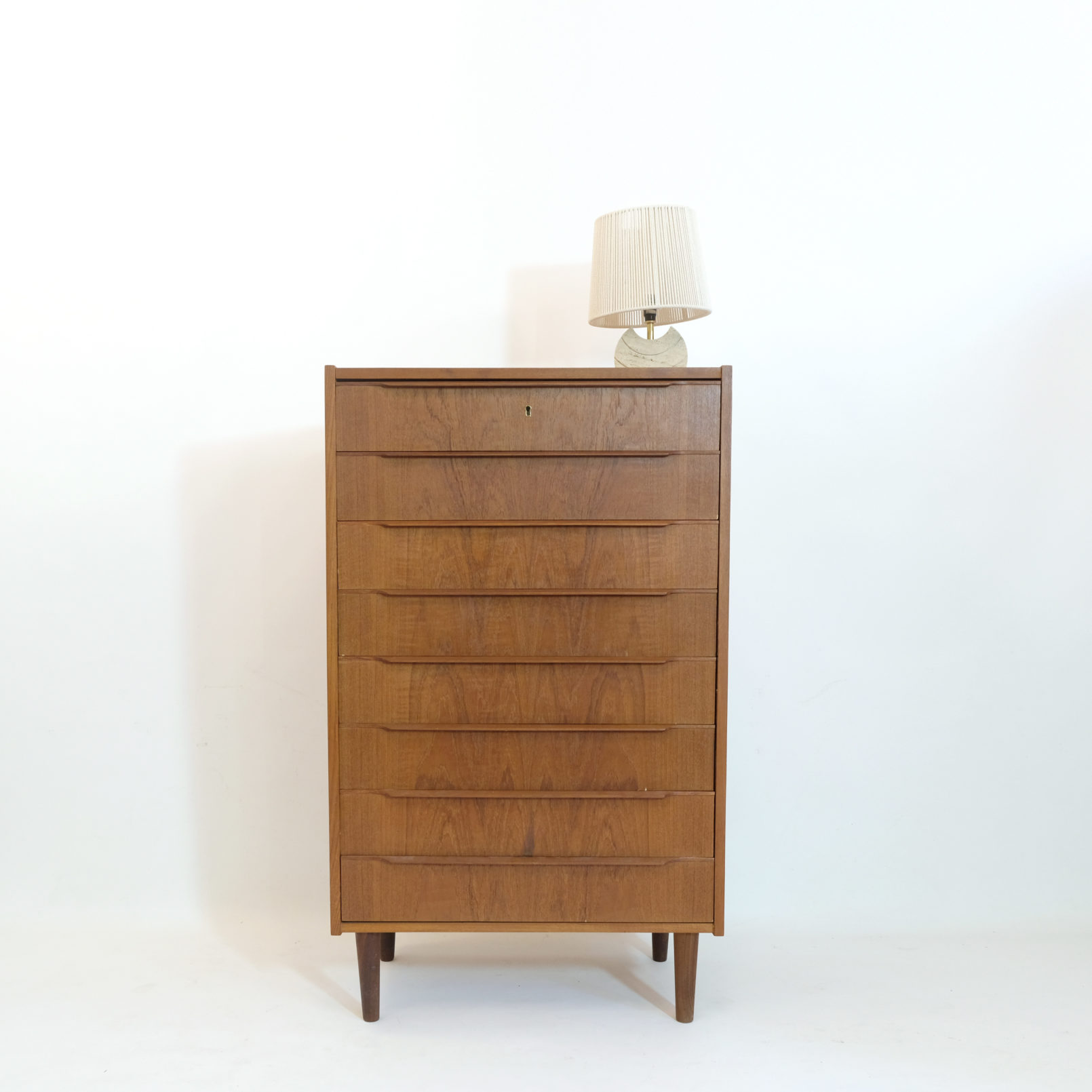 Gorgeous chest of drawers, Denmark, 1960s.