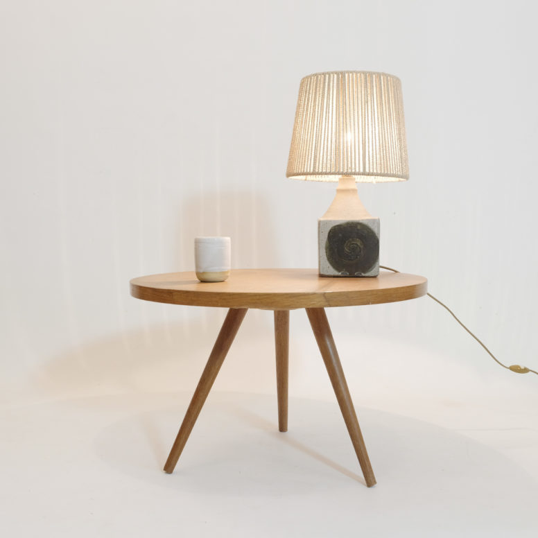 Little tripod coffee table from the sixties.