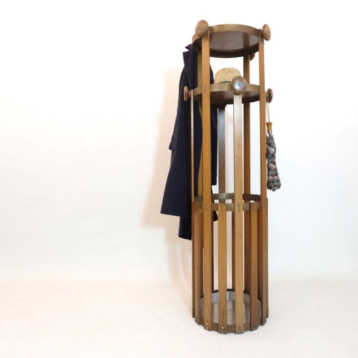 Porte manteau sur pied d'origine italienne, 1960s.
