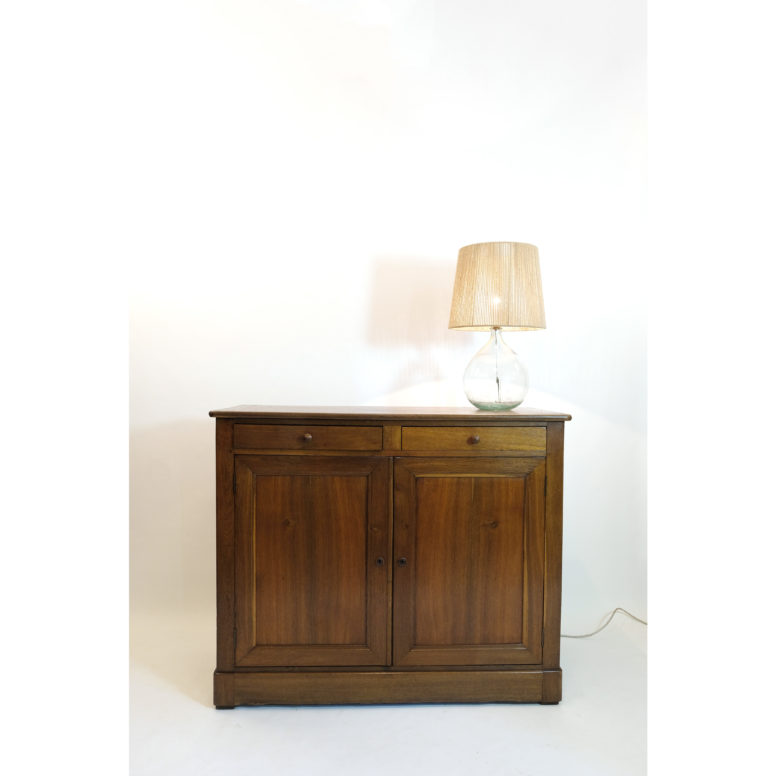 French oak sideboard from the 19th century.