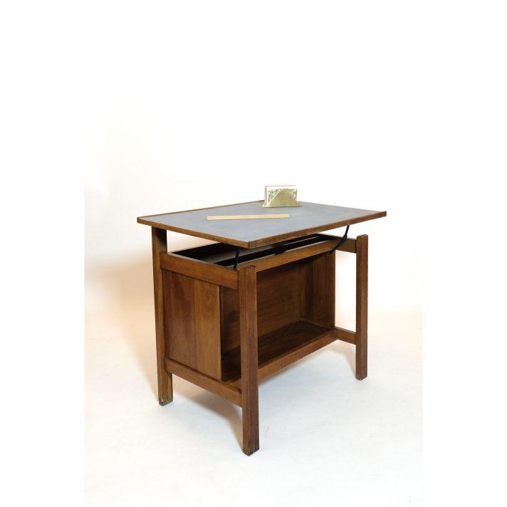 Marcel Gascoin, 2 positions child's desk, ARHEC, 1950s.