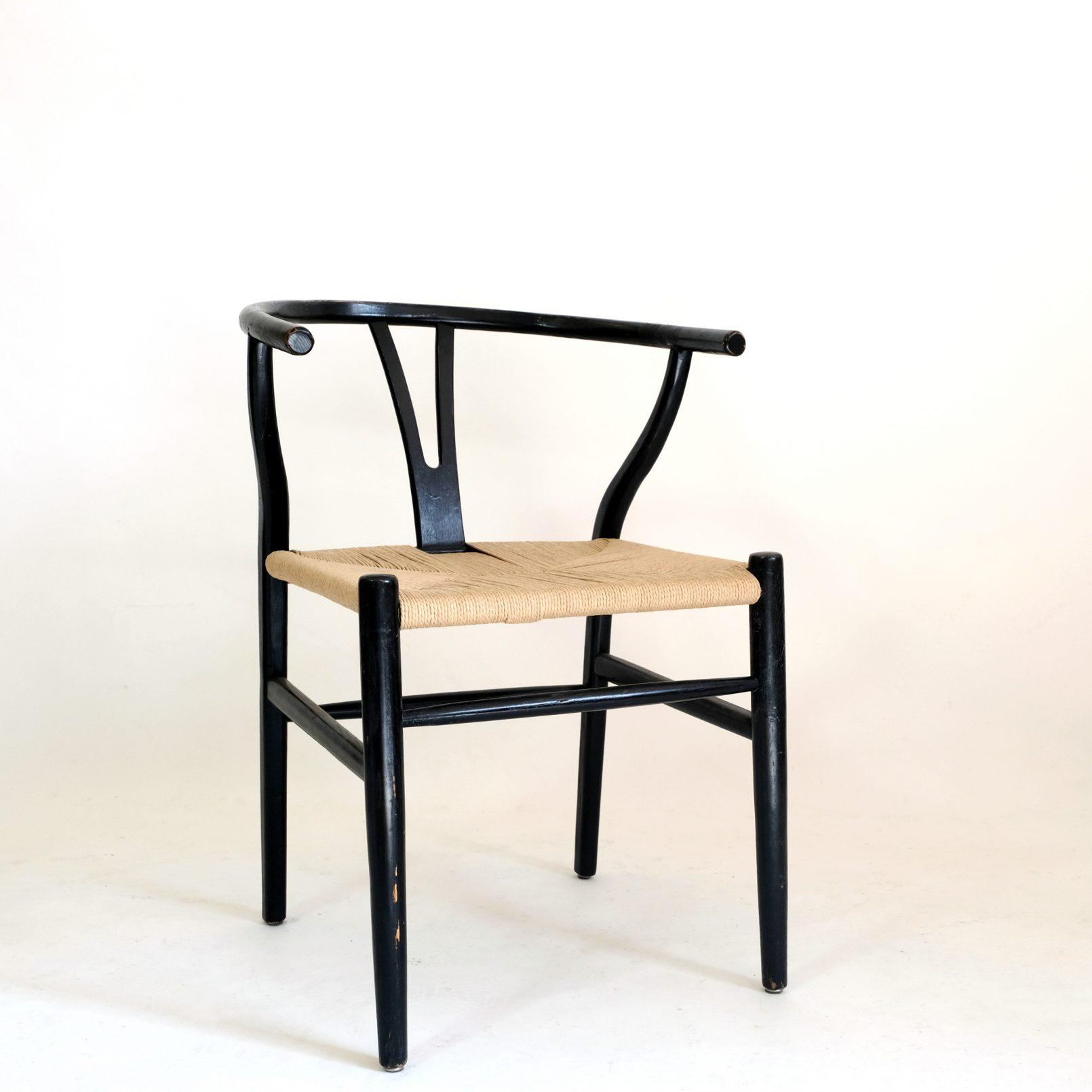 Hans Wegner, chaise Wishbone ou CH24, vers 1970.