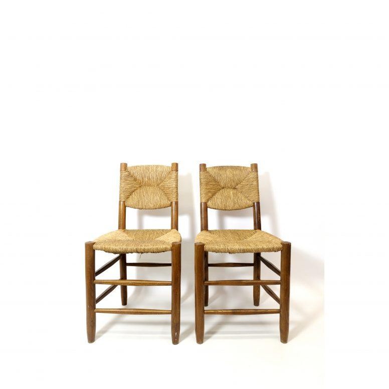 Perriand, paire de chaises n°19, dessin de 1939.