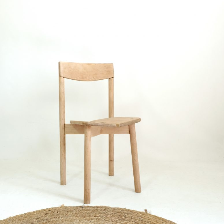 Pierre Gautier Delaye, a coffee bean chair, Vergnères, 1955.