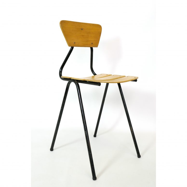 French mid century child's chair.